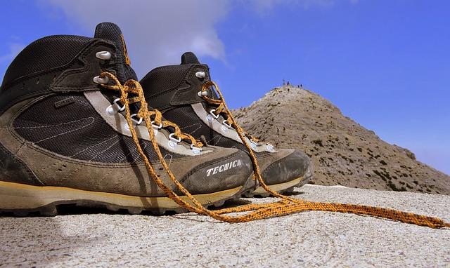 horské boty