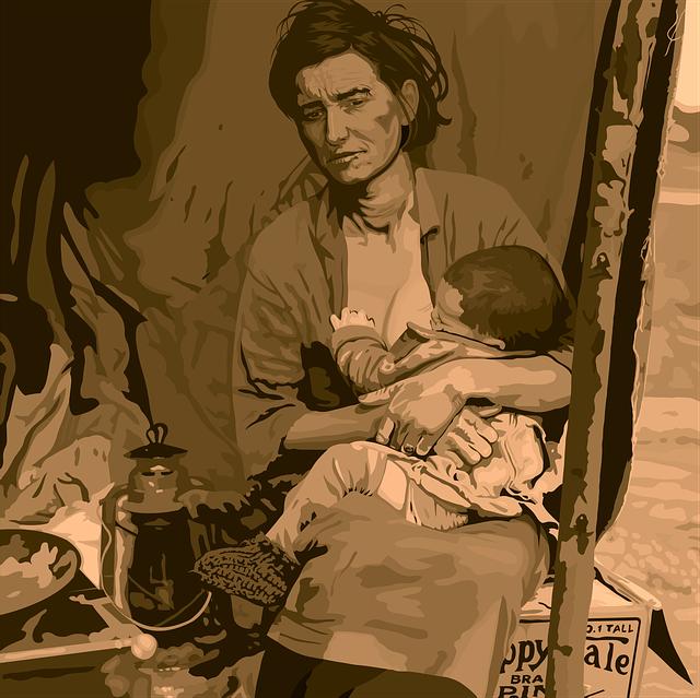 migrující matka