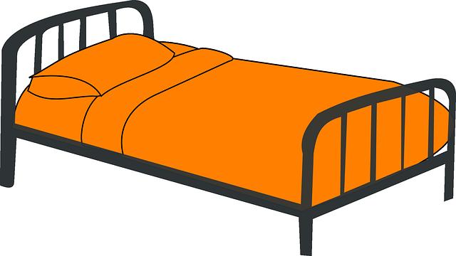 oranžové povlečení