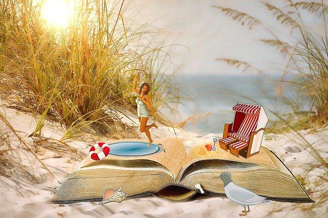 kniha na dovolenou